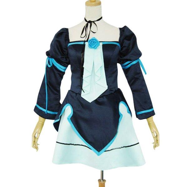 Vocaloid Miku Doujin Lolita Cosplay Costume
