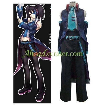 Vocaloid Yokune Ruko Halloween Cosplay Costume