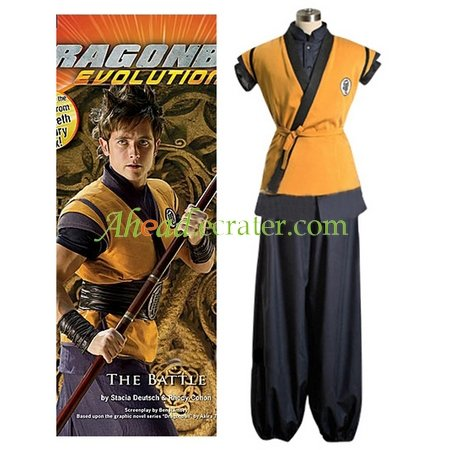 Dragon Ball Movie Goku Cosplay Costume
