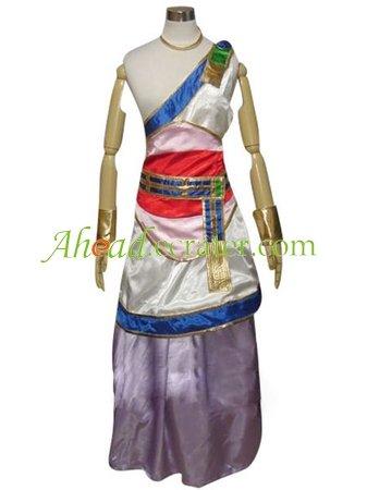 Dragon Warrior V Nera Briscoletti Cosplay Costume