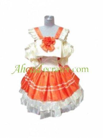Frontier Ranka Lee Lolita Dress Cosplay Costume