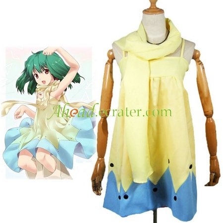 Macross Frontier Cosplay Costume