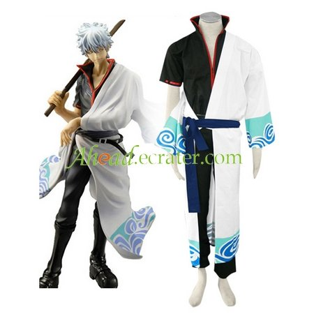 Gin Tama Gintoki Sakata Cosplay Costume
