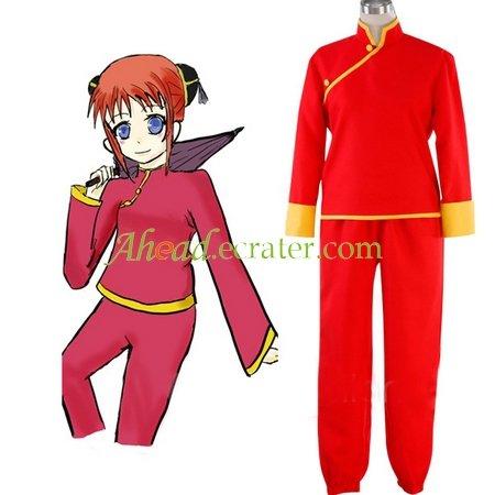 Silver Soul Kagura Cosplay Costume