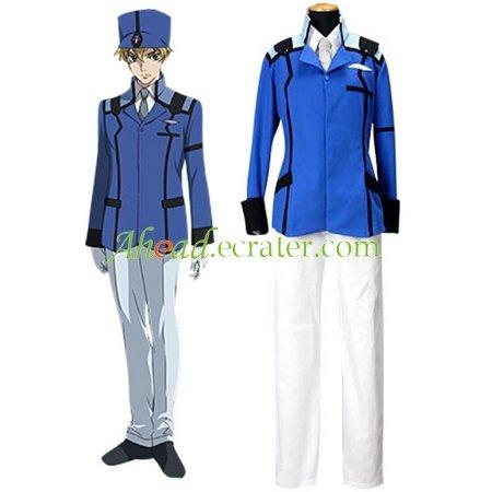 Mobile Suit Gundam 00 Union Uniform Cosplay Costume