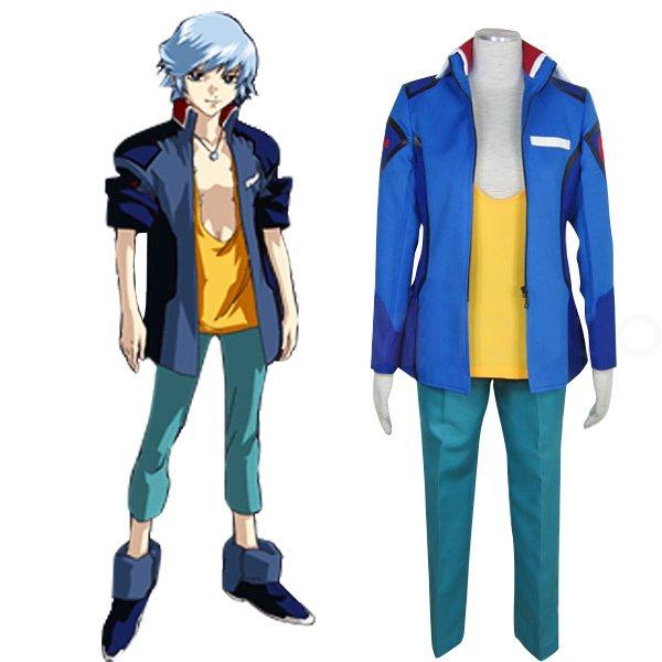Gundam Seed Destiny Earth Alliance Male Uniform Cosplay Costume