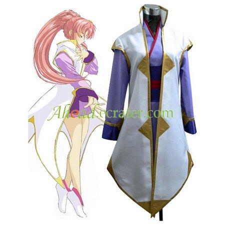 Gundam Seed Lacus Clyne Halloween Cosplay Costume