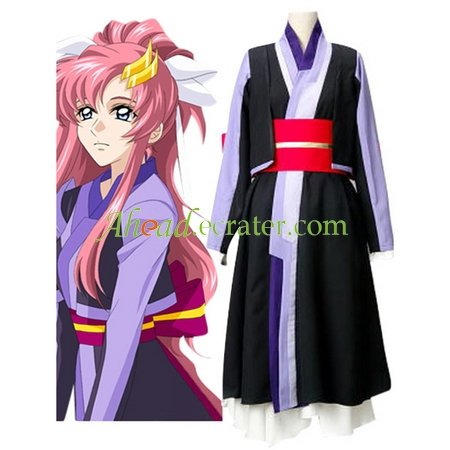 Mobile Suit Gundam SEED Lacus Clyne Chair Version Cosplay Costume