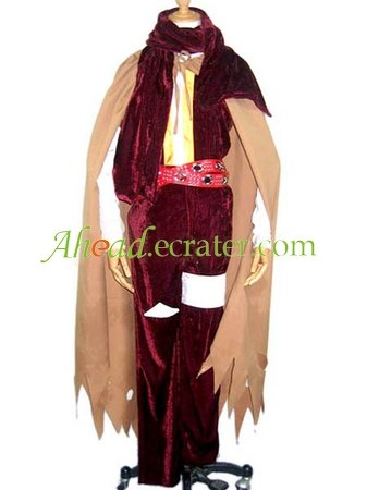 Gurren Lagann Anime Cosplay Costume