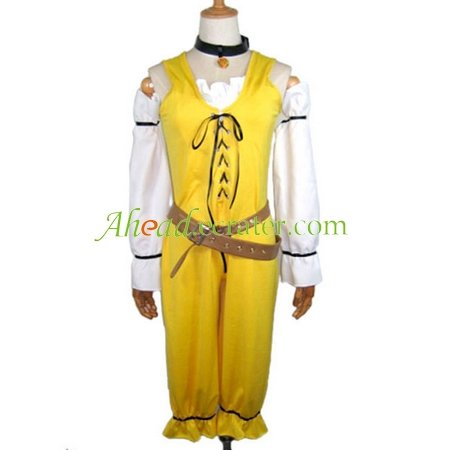 Hack Jumper Cosplay Costume yellow