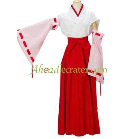 Higurashi no Naku Koro ni Hanyu Furude Cosplay Costume