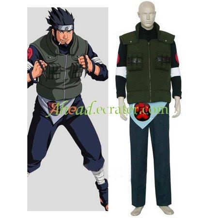 Naruto Asuma Sarutobi Halloween Cosplay Costume