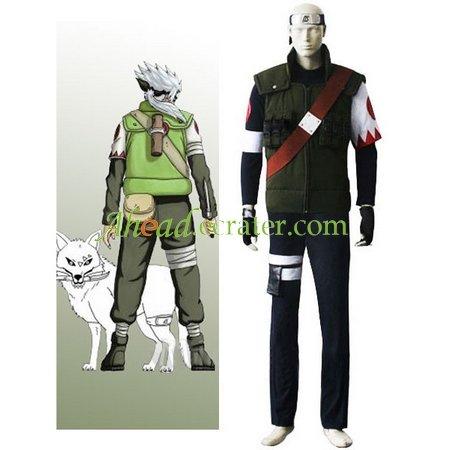 Naruto Hatake Sakumo Cosplay Costume