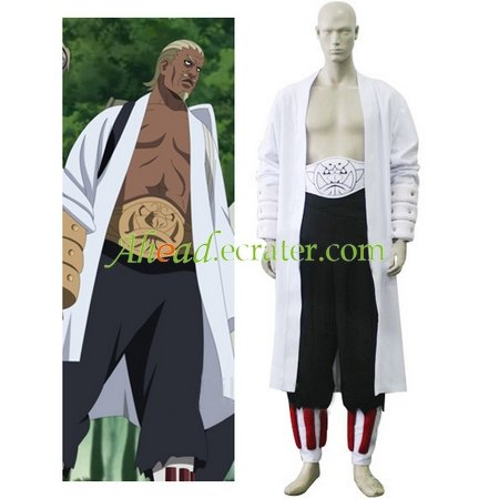 Naruto Raikage Cosplay Costume