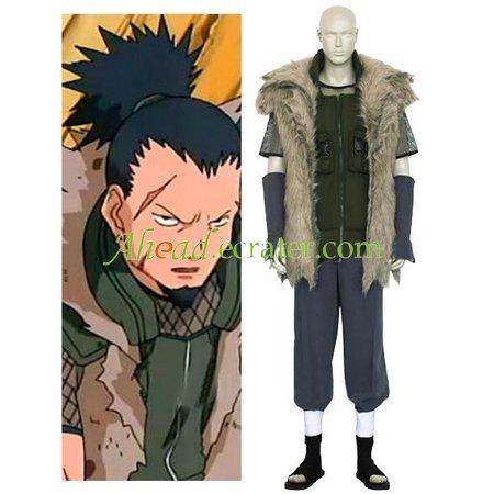 Naruto Shikaku Nara Cosplay Costume