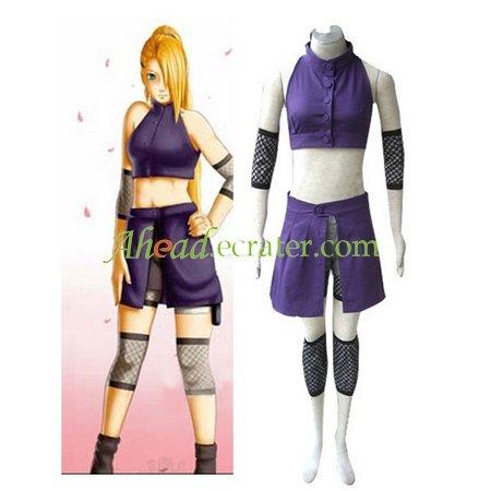 Naruto Shippuden Ino Yamanaka Halloween Cosplay Costume