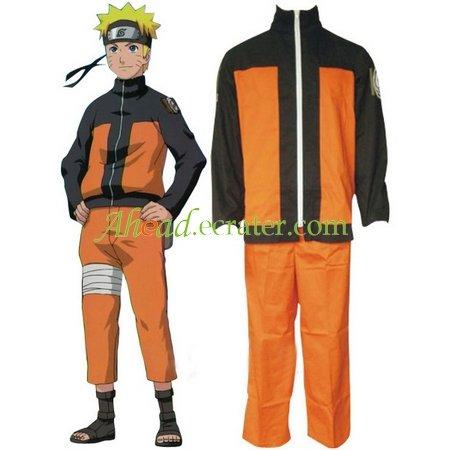 Naruto Shippuden Uzumaki Hokage Halloween Cosplay Costume