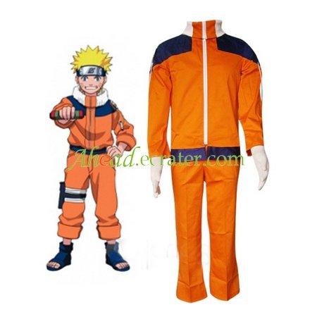 Naruto Uzumaki Hokage Halloween Cosplay Costume