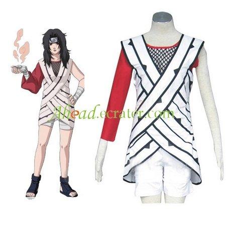 Naruto Yuuhi Kurenai Halloween Cosplay Costume