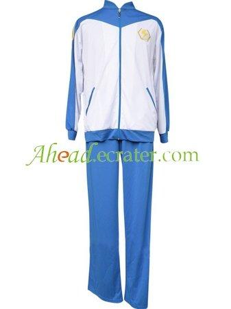 Inazuma Eleven Inazuma Japan Winter Soccer Uniform Cosplay Costume