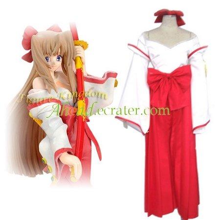 Kannazuki no Miko Himeko Kurusugawa Cosplay Costume