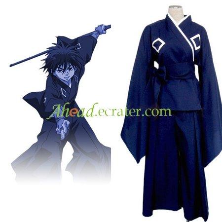 Kekkaishi Sumimura Yoshimori Halloween Cosplay Costume