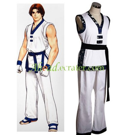King of Fighter's Jellyfish Pirate May White Cosplay Costume