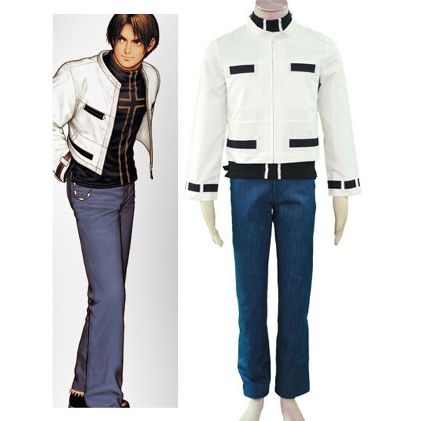 The King of Fighters Kyo Kusanagi I Cosplay Costume
