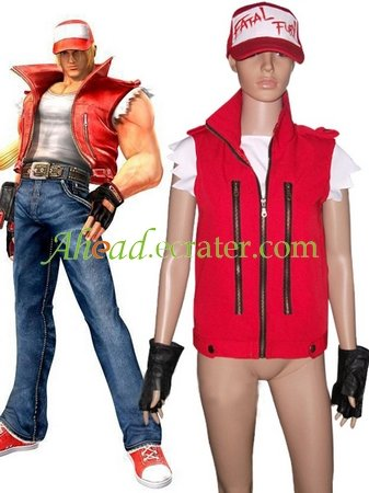 The King Of Fighters Terry Bogard Cosplay Costume