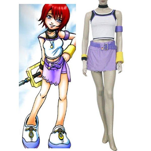 Kingdom Hearts 1 Kairi Halloween Cosplay Costume
