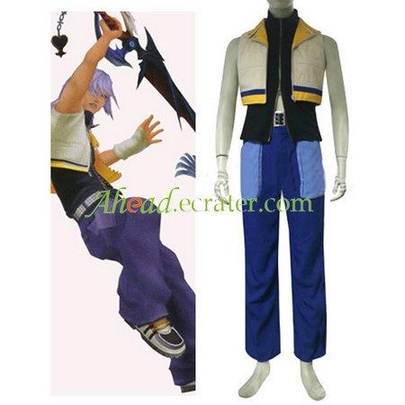 Kingdom Hearts II Riku Halloween Cosplay Costume