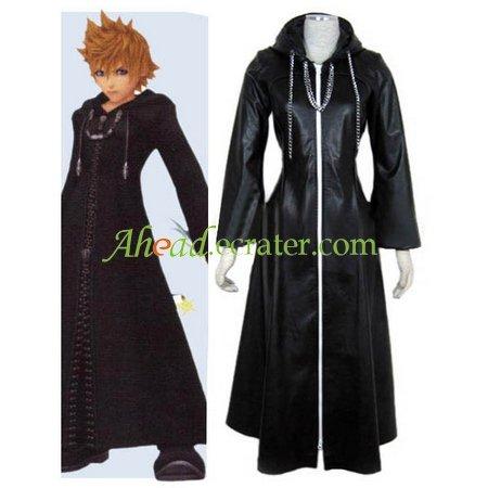 Kingdom Hearts Organization XIII Roxas Halloween Cosplay Costume