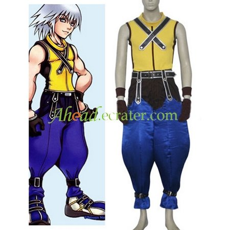 Kingdom Hearts Riku Halloween Cosplay Costume