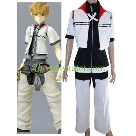 Kingdom Hearts Roxas Halloween Cosplay Costume
