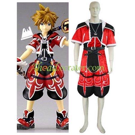 Kingdom Hearts Sora Brave Form Halloween Cosplay Costume