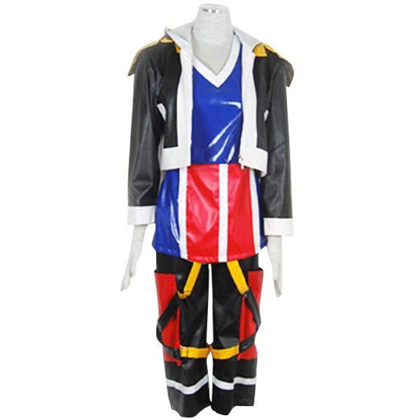 Kingdom Hearts Sora Halloween Cosplay Costume1