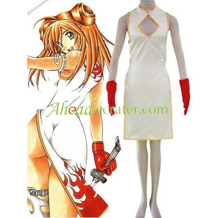 Battle Vixens Sun Ce I Cosplay Costume