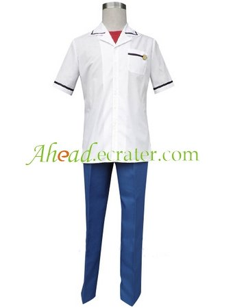 La Corda d'Oro Music Department Summer Boy's Cosplay Costume