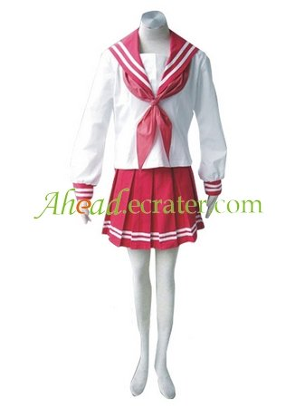 Luck Star Cosplay Costume