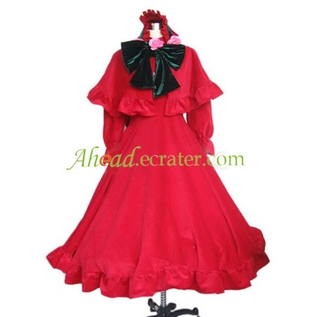 Rozen Maiden Pure Ruby Halloween Cosplay Costume