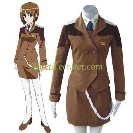 Mahou Shoujo Magical Girl Lyrical Nanoha Mobile Section 6 Cosplay Costume