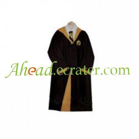 Harry Potter Hufflepuff Cloak Cosplay Costume