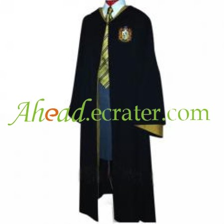 Harry Potter Hufflepuff Cosplay Costume