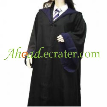 Harry Potter Ravenclaw Cloak Cosplay Costume
