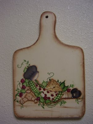 Sweet Doll Wall Plaque