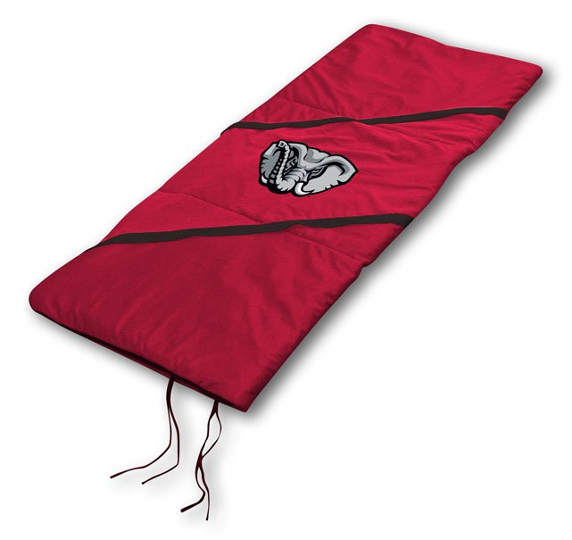 """Alabama Crimson Tide NCAA Licensed 29"""" x 66"""" Sleeping Bag"""