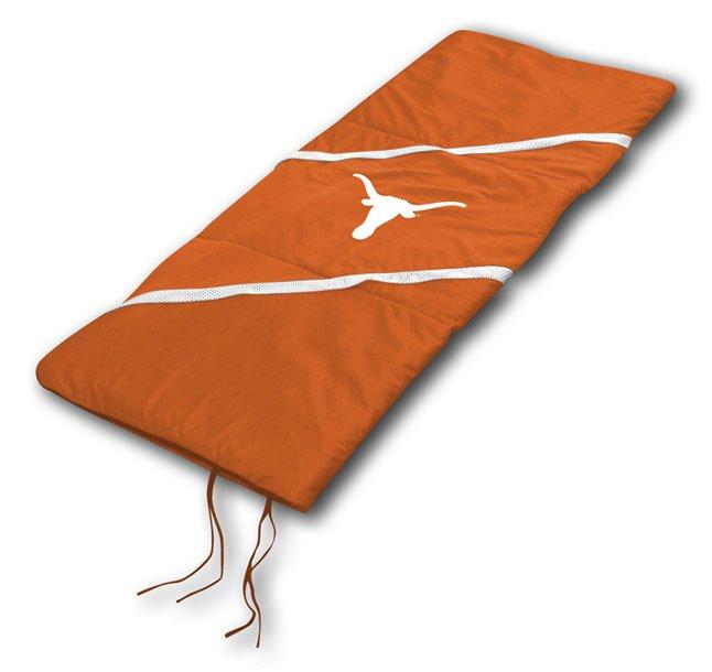"""Tesas Longhorns NCAA Licensed 29"""" x 66"""" Sleeping Bag"""