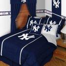 New York Yankees Bedding Sidelines Comforter only - Queen