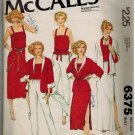 McCall's 6375 Shawl Collar Jacket, Slit Skirt. & Pants Vintage 70s Sewing Pattern