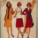 Simplicity 9904 1970s JACKET, BLOUSE & SKIRT Vintage Sewing Pattern